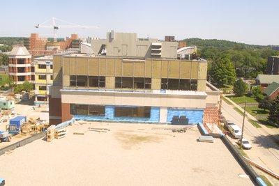Construction of Bricker Academic Building, Wilfrid Laurier University