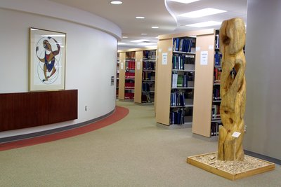 First floor, Wilfrid Laurier University Library