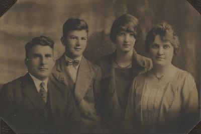 Crouse family portrait