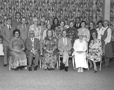 Wilfrid Laurier University long service awards 1978