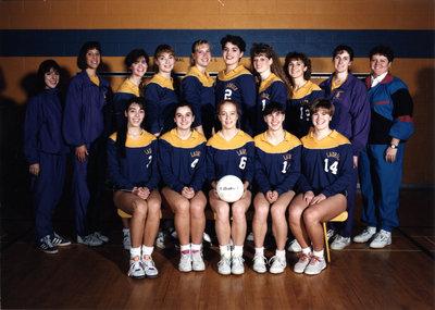 Wilfrid Laurier University women's volleyball team, 1991-92