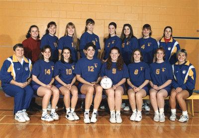 Wilfrid Laurier University women's volleyball team, 1994-95