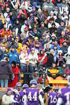 Wilfrid Laurier University fans at the 2005 Vanier Cup national championship game
