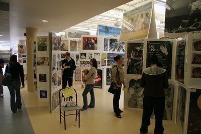 Imaginus poster sale at Wilfrid Laurier University, 2006