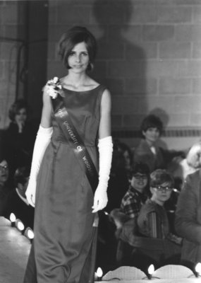 Miss Canadian University Queen 1968