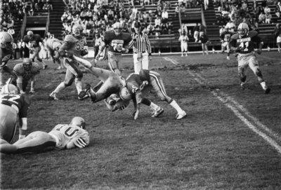Wilfrid Laurier University football game, 1987