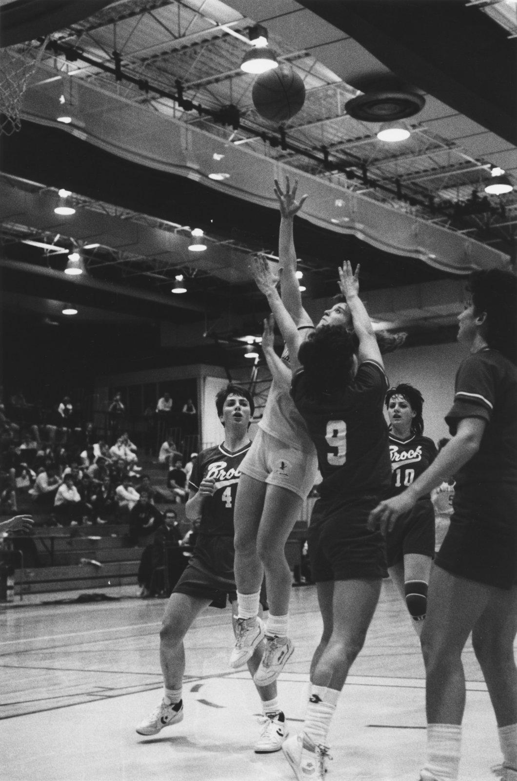 Wilfrid Laurier University women's basketball game