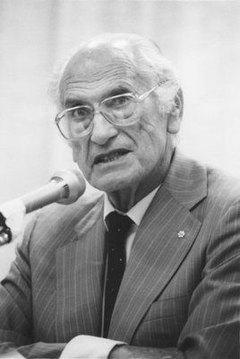 Rabbi W. Gunther Plaut - Laurier Lecture Series, 1988