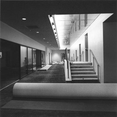 Aird Centre foyer construction