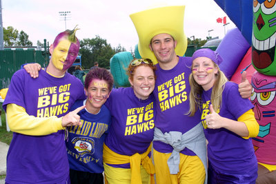 Homecoming 2003 tailgate party, Wilfrid Laurier University