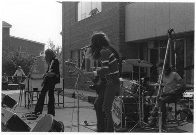 Rush concert at Waterloo Lutheran University