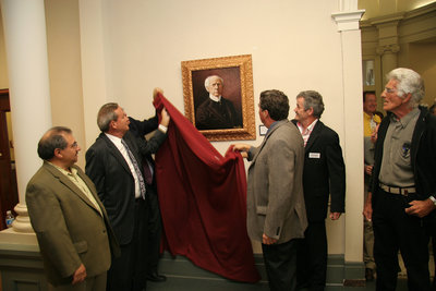 Unveiling of Sir Wilfrid Laurier protrait