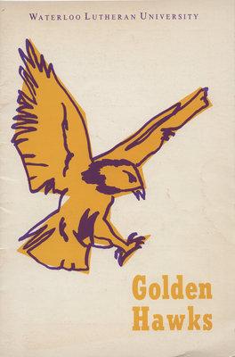 Waterloo Lutheran University Golden Hawks program, October 22, 1966