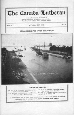 The Canada Lutheran, vol. 1, no. 11, May 1913