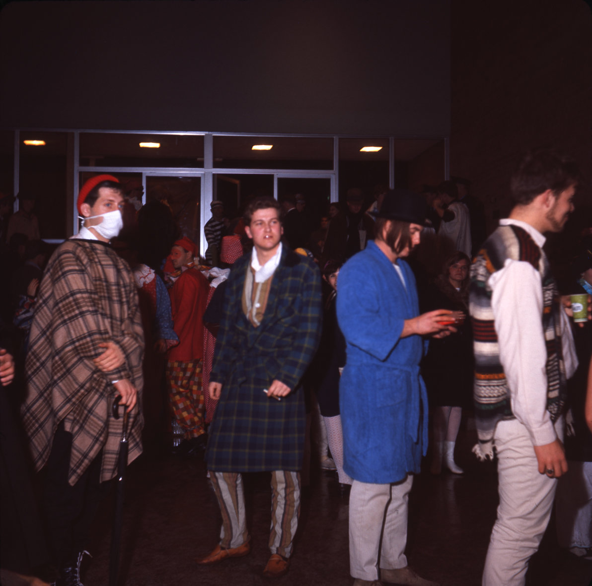 Waterloo Lutheran University Mardi Gras, 1966