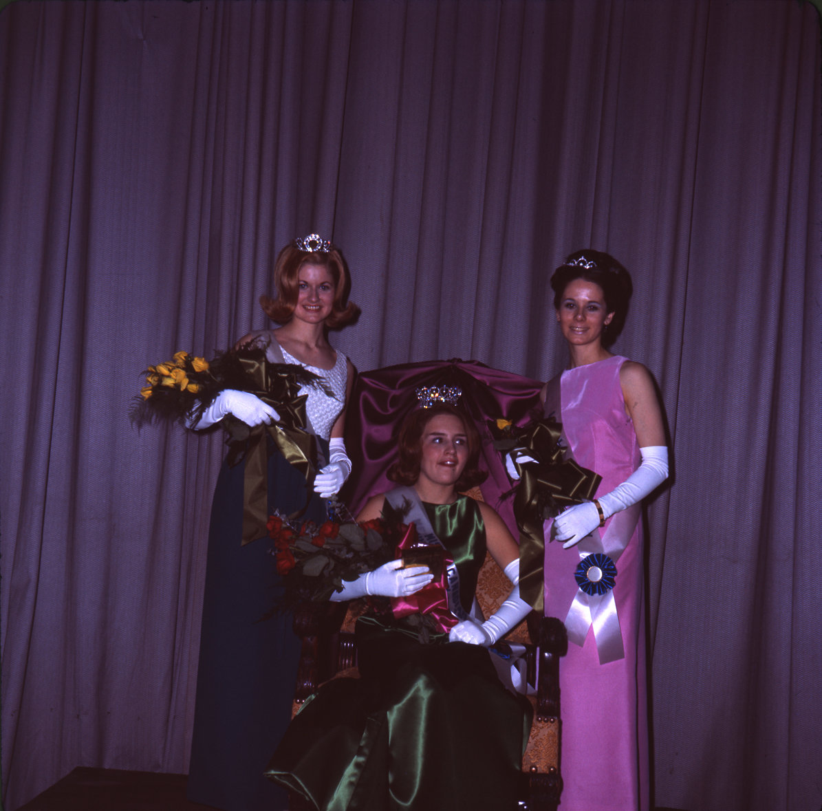 Miss Canadian University Queen and court, 1967