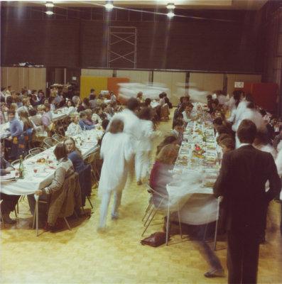 Boar's Head Dinner, Wilfrid Laurier University, 1981