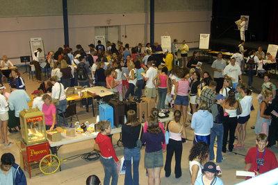 Registration Day 2003, Wilfrid Laurier University