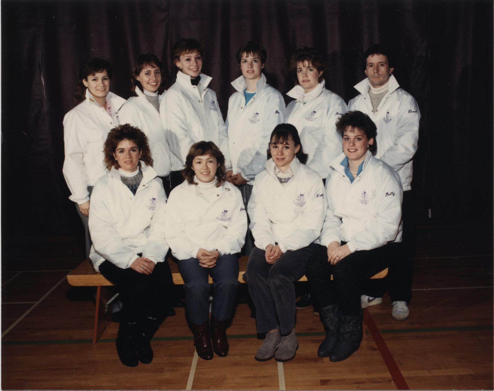 Wilfrid Laurier University figure skating team, 1986-1987