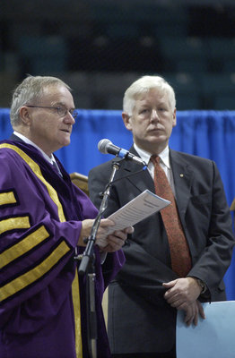 Installation of Bob Rae at Wilfrid Laurier University fall convocation, 2003