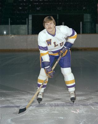 Tony Martindale, Wilfrid Laurier University hockey player