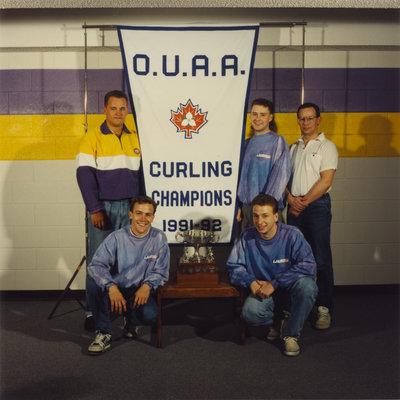 Wilfrid Laurier University men's curling team, 1991-92