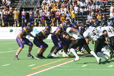 Wilfrid Laurier University 2005 Homecoming football game