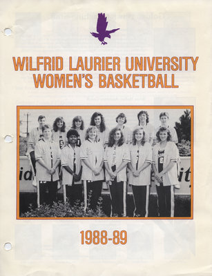 Wilfrid Laurier University Women's Basketball 1988-89