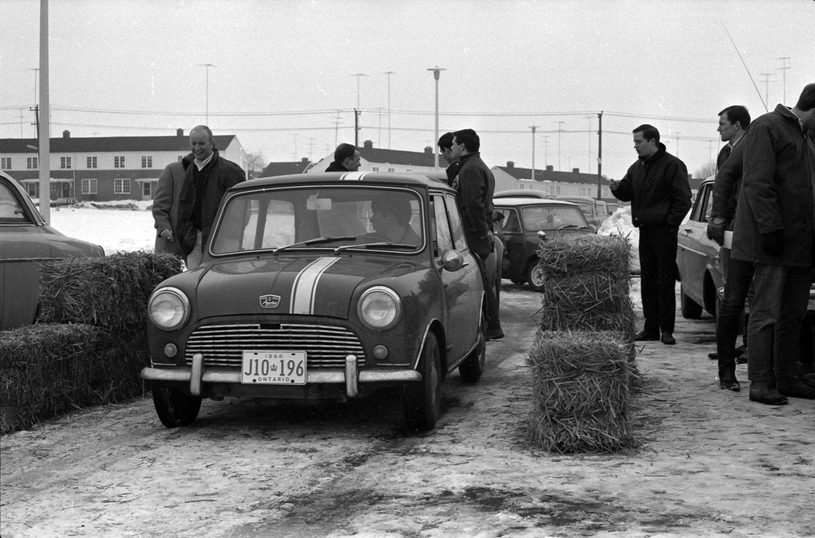 Waterloo Lutheran University Winter Carnival car rally, 1968
