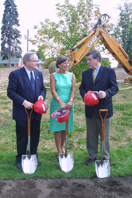 Wilfrid Laurier University Science and Research Center ground breaking ceremony