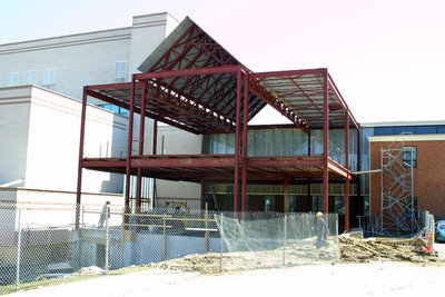 Wilfrid Laurier University Dining Hall expansion and renovations, 2002