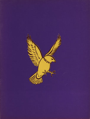 Golden Hawks football 72 : souvenir program