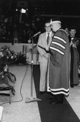 Installment of John Weir as President