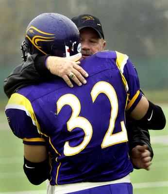 Nick Cameron and Gary Jeffries at 2005 OUA semi-final game