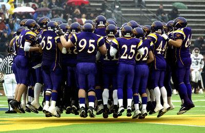 Wilfrid Laurier University Golden Hawks football team at 2005 OUA semi-final game