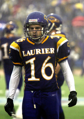 Ian Logan, Wilfrid Laurier University football player
