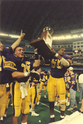 Laurier Golden Hawks with Churchill Bowl