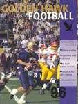 Golden Hawk football 96 : souvenir program