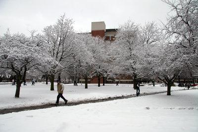 Wilfrid Laurier University campus, 2005