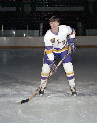 Dave Bogart, Wilfrid Laurier University hockey player