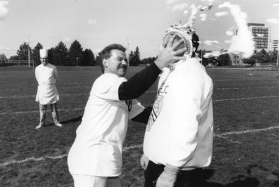 Interuniversity pie-in-the-face