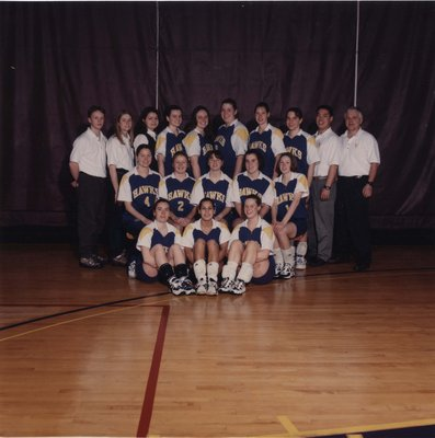 Wilfrid Laurier University women's volleyball team, 1997-98