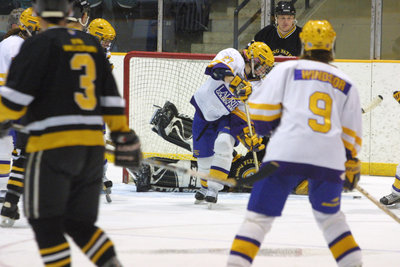 Wilfrid Laurier University women's hockey game