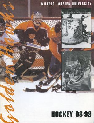 Wilfrid Laurier University : Hockey 1998-99