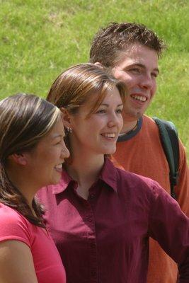 Three Wilfrid Laurier University students