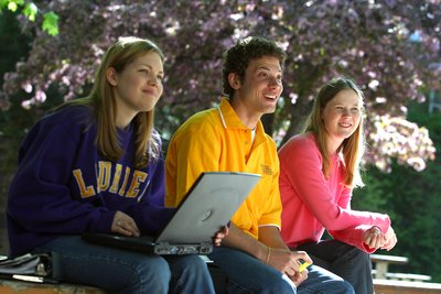 Three Wilfrid Laurier University students