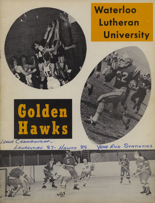 Waterloo Lutheran University Golden Hawks athletics program, Feb. 27, 1971