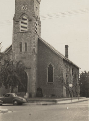 Exterior of St. Peter's Evangelical Lutheran Church, Preston, Ontario
