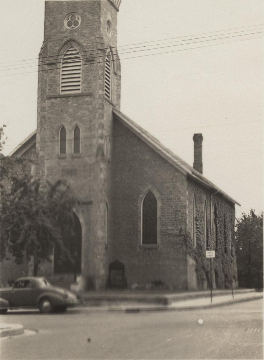 Exterior of St. Peter's Evangelical Lutheran Church, Preston, Ontario