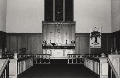 Interior of St. Peter's Evangelical Lutheran Church, Preston, Ontario